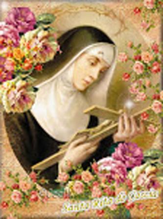 Sf. Rita din Cascia, călugăriță (22 mai) - foto: sfantaritadecascia.blogspot.ro