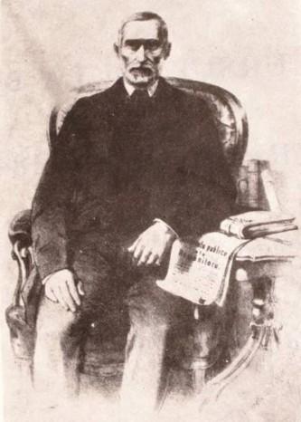 Simion Bărnuțiu (n. 21 iulie 1808, Bocșa, Sălaj - d. 28 mai 1864, Sânmihaiu Almașului) a fost un om politic român, istoric, filozof, și profesor universitar, unul dintre principalii organizatori ai Revoluției de la 1848 în Transilvania - foto: ro.wikipedia.org