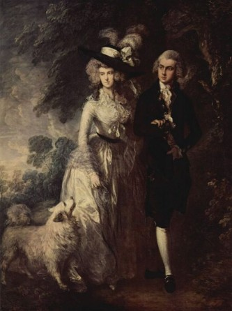 "Thomas Gainsborough, ""Plimbarea de dimineață"" (cca. 1785) - foto: ro.wikipedia.org"