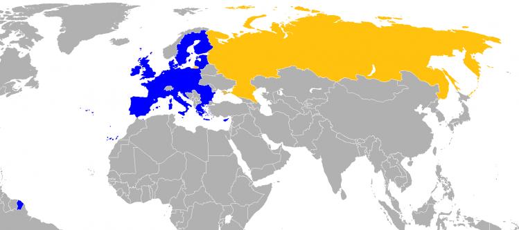 UE-Rusia - foto: ro.wikipedia.org