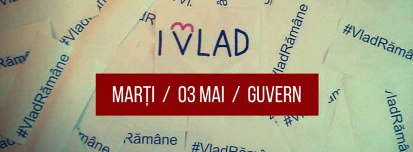 VladREZISTA / 3 mai / 19:00 / GUVERN - foto: facebook.com