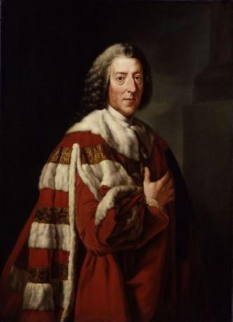 William Pitt (n. 15 noiembrie 1708 – d. 11 mai 1778) a fost un politician britanic, prim ministru al Marii Britanii între 1766 și 1768, tatăl lui William Pitt cel Tânăr - foto: ro.wikipedia.org