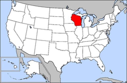 Wisconsin este unul din cele 50 de state ale Statelor Unite ale Americii, localizat în zona acestora cunoscută ca Midwest. Capitala sa este orașul Madison, iar actualul guvernator este Scott Walker. Zona statului Wisconsin, mărginită de statele de azi Iowa, Minnesota, Michigan și Illinois, aidoma lacurilor Michigan și Superior, a fost o parte a teritoriului Statelor Unite încă de la terminarea Războiului revoluționar american. Mai târziu, Teritoriul Wisconsin (care includea părți din alte state de azi) a fost creat la 3 iulie 1836. Wisconsin și-a ratificat propria sa constituție la 13 martie 1848 fiind admis în Uniune ca cel de-al treizecilea stat al acesteia la 29 mai 1848. Economia inițială a statului Wisconsin, preponderent rurală, s-a bazat inițial mai ales pe blănuri; în secolul al 19-lea, s-a diversificat bazându-se pe minerit, exploatarea lemnului, produse lactate și turism - foto: ro.wikipedia.org
