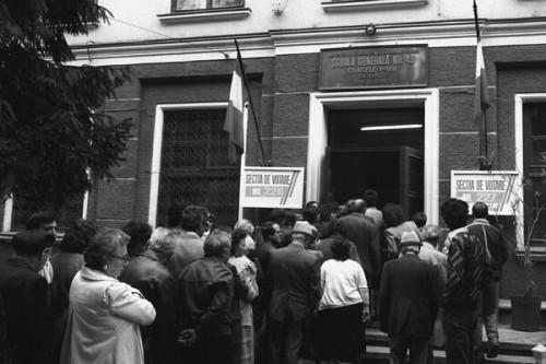 Alegerile de la 20 mai 1990 - foto:agerpres.ro