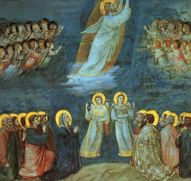nălțarea (Giotto, Cappella degli Scrovegni) - foto preluat de pe ro.wikipedia.org