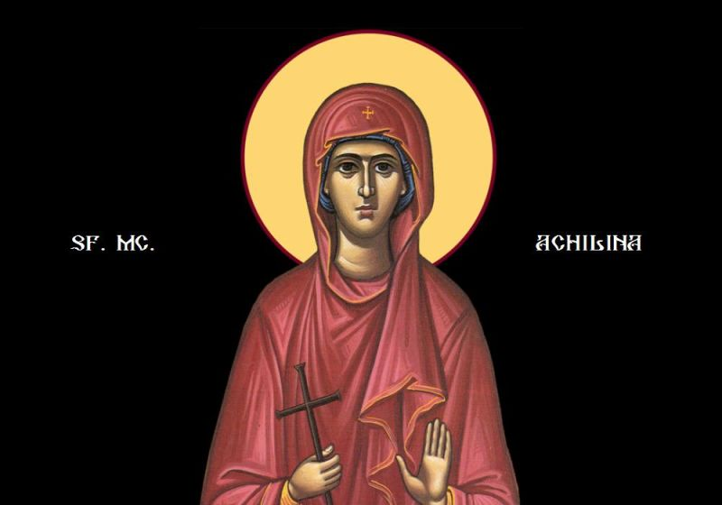 Sfânta Muceniță (†303) - foto preluat de pe ziarullumina.ro