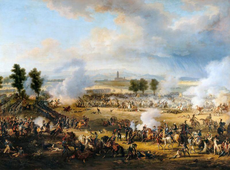 Bătălia de la Marengo (14 iunie 1800), de Lejeune - foto: ro.wikipedia.org