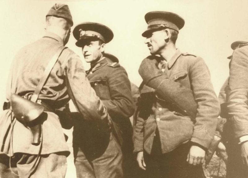 Basarabia, Bucovina de nord şi ţinutul Herţa, sub ocupaţia sovietică - Dezarmarea trupelor române -foto preluat de pe ro.wikipedia.org