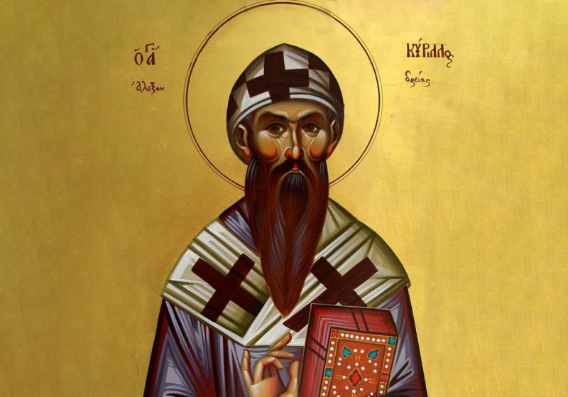 Sf. Ier. Chiril, arhiepiscopul Alexandriei (376 - 444) - foto preluat de pe ziarullumina.ro