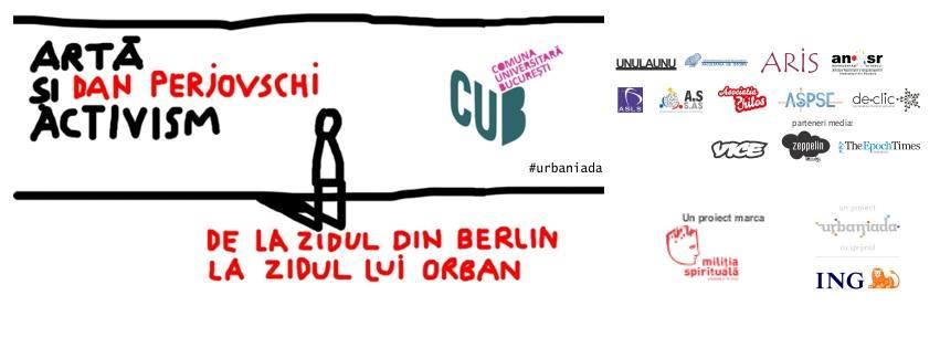 CUB feat. Perjovschi. Pe sârmă ghimpată nu se poate face graffiti - foto: facebook.com