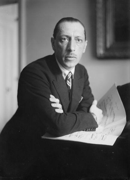 Igor Fiodorovici Stravinski (n. 17 iunie 1882, Lomonosov – d. 6 aprilie 1971, New York) a fost un compozitor modern de muzică cultă, originar din Rusia, unul din cei mai importanţi muzicieni din prima jumătate a secolului al XX-lea - foto: ro.wikipedia.org