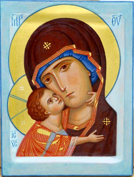 """Icoana Maicii Domnului """"Igorevskaia"""". Cinstirea sa de către Biserica Ortodoxă se face la data de 5 iunie - foto: doxologia.ro"""
