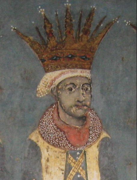 Iliaş Rareş (n. 1531 – d. 1562) a fost domn al Moldovei între 3 septembrie 1546 - 11 iunie 1551 - in imagine, Chipul lui Iliaş II Rareş de pe tabloul votiv al bisericii Mănăstirii Probota - foto: ro.wikipedia.org