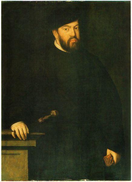 """Ioan al III-lea al Portugaliei (7 iunie 1502–11 iunie 1557), supranumit o Piedoso (""""Cel Pios""""), a fost al cincisprezecilea rege al Portugaliei şi al Algarve - in imagine, Portret al lui Ioan al III-lea de Antonis Mor - foto: ro.wikipedia.org"""