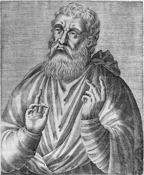 Sfântul Iustin Martirul și Filosoful (100-160) - foto preluat de pe ro.wikipedia.org