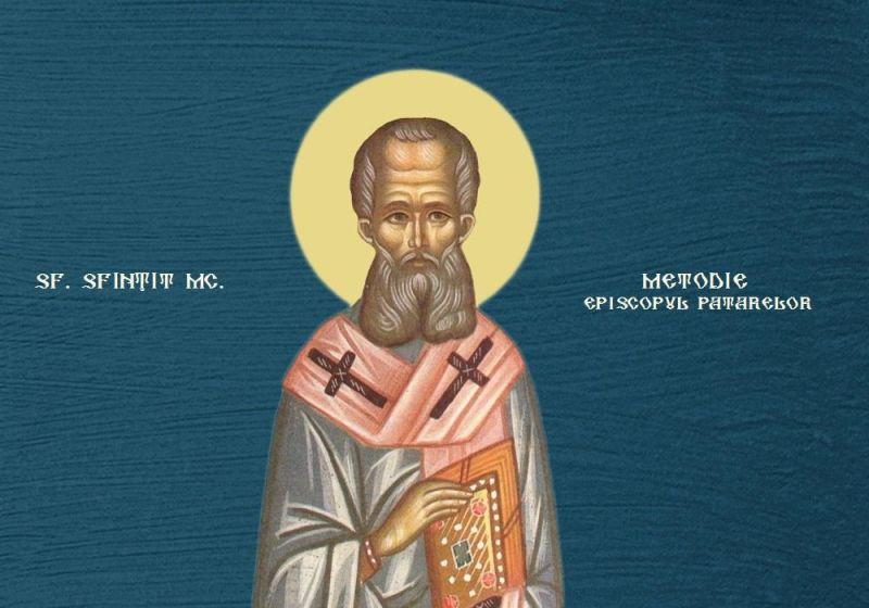Sf. Sfințit Mc. Metodie, Episcopul Patarelor (20 iunie) - foto preluat de pe ziarullumina.ro