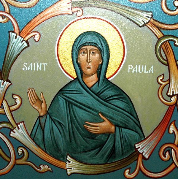 Sfânta Muceniță Paula fecioara. Prăznuirea sa de către Biserica Ortodoxă se face la data de 3 iunie. foto preluat de pe doxologia.ro