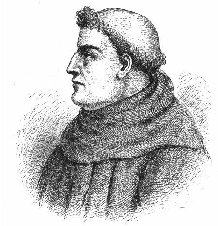 """Roger Bacon (n. c. 1214 – d. 1294), supranumit """"Doctor mirabilis"""", a fost unul dintre cei mai mari filozofi ai evului mediu timpuriu - foto: ro.wikipedia.org"""