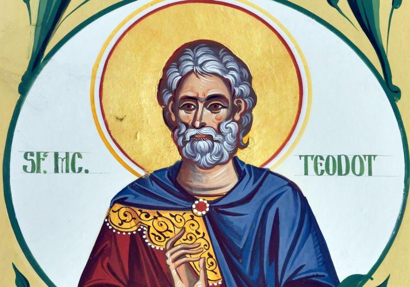 Sf. Sfințit Mc. Teodot, episcopul Ancirei (†303) - foto preluat de pe ziarullumina.ro