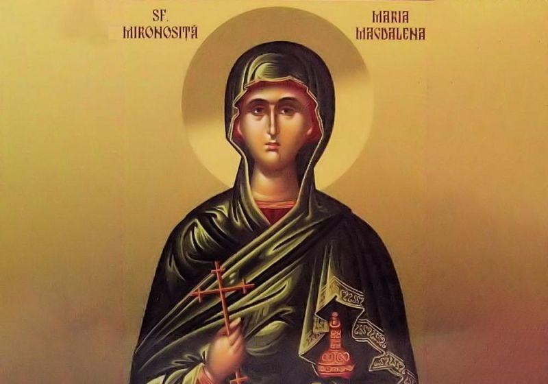 Sfânta Mironosiţă şi întocmai cu Apostolii Maria Magdalena - foto preluat de pe ziarullumina.ro