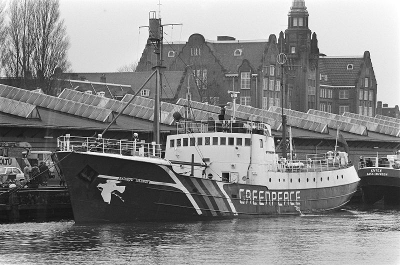 Rainbow Warrior (1981) - foto: en.wikipedia.org
