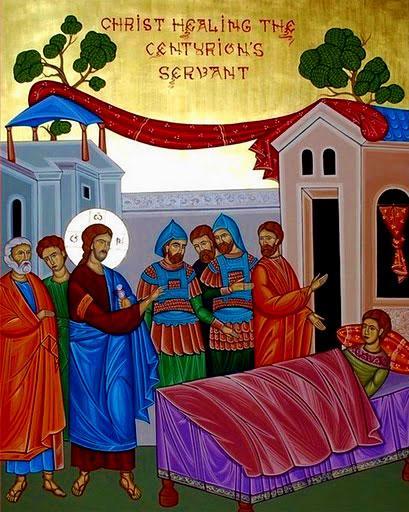 Vindecarea slugii sutaşului - Duminica a 4-a după Rusalii (Vindecarea slugii sutașului - a Sf. Părinți de la Sinodul al IV-lea Ecumenic) - foto: doxologia.ro