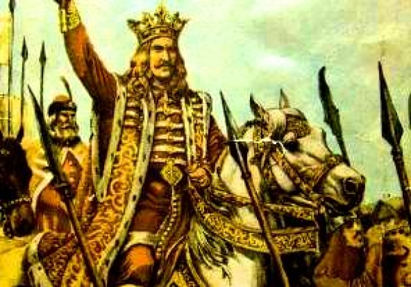 Ștefan al III-lea, supranumit Ștefan cel Mare (n. 1433, Borzești - d. 2 iulie 1504, Suceava), fiul lui Bogdan al II-lea, a fost domnul Moldovei între anii 1457 și 1504. A domnit 47 de ani, durată care nu a mai fost egalată în istoria Moldovei. În timpul său, a dus lupte împotriva mai multor vecini, cum ar fi Imperiul Otoman, Regatul Poloniei și Regatul Ungariei. Biserici și mănăstiri construite în timpul domniei sale sunt astăzi pe lista locurilor din patrimoniul mondial - foto: historia.ro