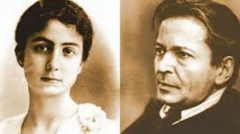 Maria Cantacuzino si George Enescu - foto preluat de pe www.historia.ro