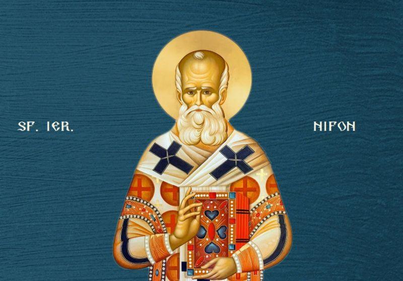 Sf. Ier. Nifon, Patriarhul Constantinopolului - foto preluat de pe ziarullumina.ro