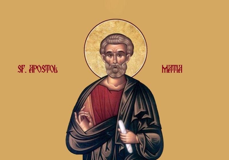 Sfântul Apostol Matia (Sec. I - d.Hr.) - foto preluat de pe ziarullumina.ro