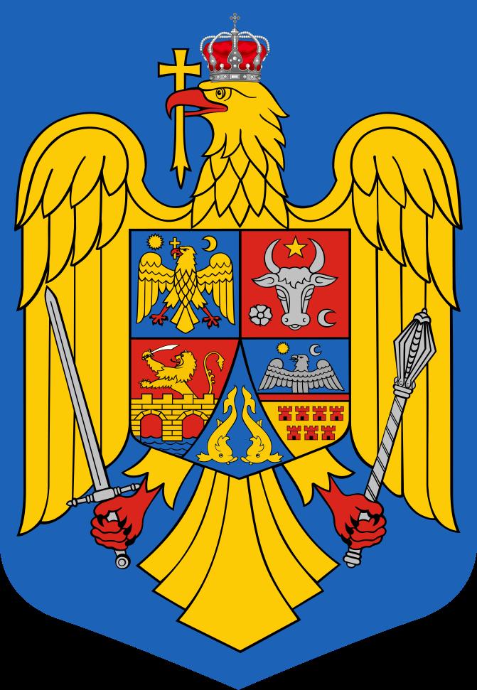 Stema României - foto preluat de pe ro.wikipedia.org