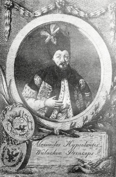 Alexandru Vodă Ipsilanti (1725-1807) a fost domn în Țara Românească: 15 septembrie 1774 - februarie 1782 și august 1796 - decembrie 1797 și în Moldova: decembrie 1786 - 19 aprilie 1788 - foto: ro.wikipedia.org