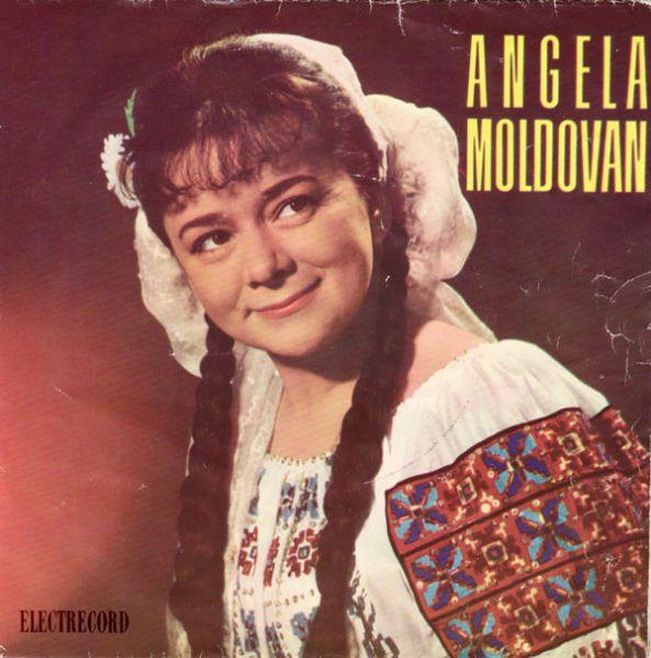 Angela Moldovan (n. 19 septembrie 1927, Chișinău, d. 13 octombrie 2013, București) a fost cântăreață română de muzică populară. A fost căsătorită cu actorul Victor Moldovan, și cu textierul, scenaristul Mircea Block, autorul versurilor a mai multor binecunoscute cântece precum Mi-am făcut bundiță nouă, Fata neichii, Sârba de la Deleni, Ia mai zi-i măi fluieraș, Merge satul la cules, Dorul mă cată pe-acasă - foto: discogs.com