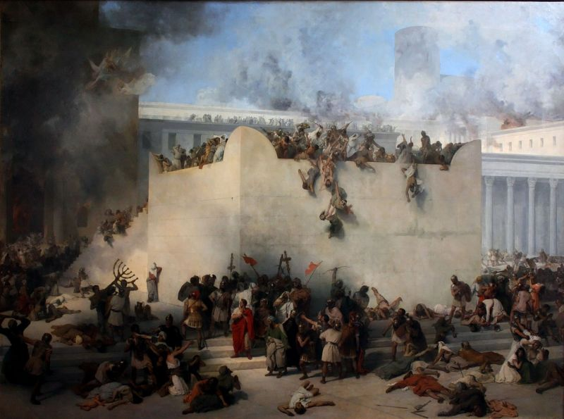 """Asediul Ierusalimului (70) - """"Masacrul"""" - foto preluat de pe ro.wikipedia.org"""