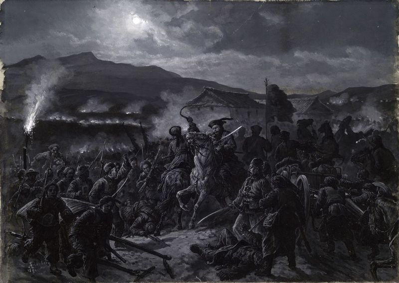 Battle of Ping Yang (1894): The routing of the Chinese Army - foto: en.wikipedia.org