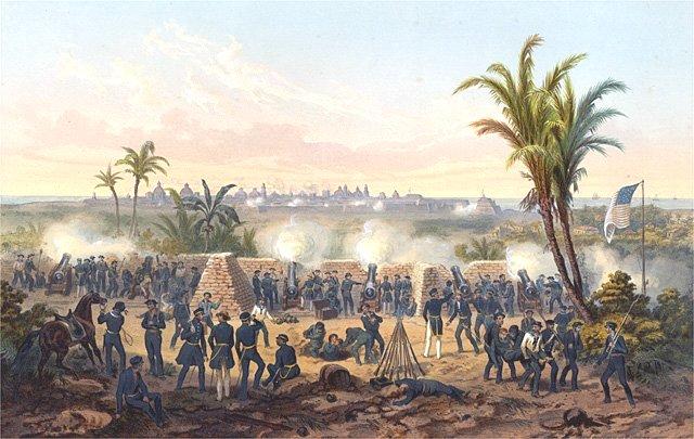 Războiul mexicano-american - Bătălia de la Veracruz - foto: ro.wikipedia.org