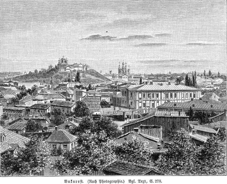 București în preajma anului 1900 - foto: ro.wikipedia.org
