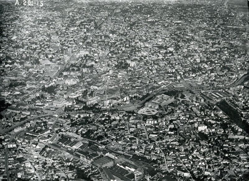 Imagine panoramică a Bucureștiului din 1927 - foto: ro.wikipedia.org