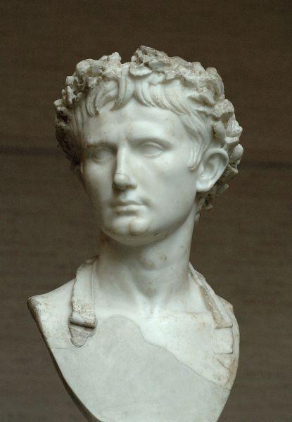 Augustus Octavian Caesar (n. 23 septembrie 63 î.Hr., Roma — d. 19 august 14 d.Hr., Nola), cunoscut anterior drept Octavian, a fost primul Împărat Roman. Deși a păstrat înfățișarea Republicii Romane, a condus ca un dictator pentru mai mult de 40 de ani. A încheiat un secol de războaie civile și a adus o eră de pace, prosperitate și măreție imperială. Este cunoscut de istorici cu titlul de Augustus, pe care l-a luat în 27 î.Hr - in imagine, Faimoasa statuie a lui Augustus de la Prima Porta, sec. I - foto: ro.wikipedia.org