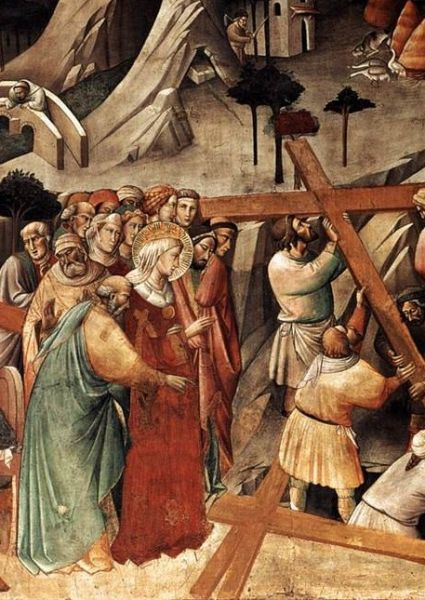 The Finding of the True Cross, Agnolo Gaddi, Florence, 1380 - foto preluat de pe en.wikipedia.org