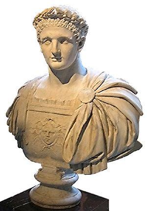Titus Flavius Domitianus (24 octombrie 51 – 18 septembrie 96), cunoscut ca Domițian, a fost împărat roman al dinastiei Flaviilor din 81 până în 96 - in imagine, Bustul lui Domițian - Muzeul Louvre - foto: ro.wikipedia.org
