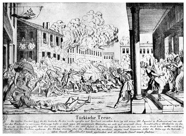 Bătălie pe străzile Bucureştilor, 1821 - foto: ro.wikipedia.org