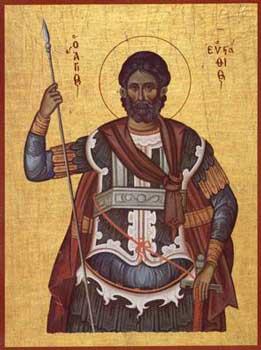 Sfântul Mare Mucenic Eustatie. Prăznuirea sa de către Biserica Ortodoxă se face la data de 20 septembrie - foto: calendar-ortodox.ro