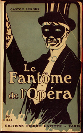 Fantoma de la operă. Coperta ediției din 1920 (Franța) - foto: ro.wikipedia.org