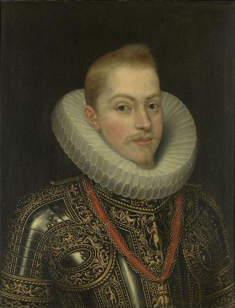 Filip al III-lea al Spaniei (spaniolă: Felipe III de España; 14 aprilie 1578 – 31 martie 1621) a fost rege al Spaniei (ca Filip al III-lea în Castilia și Filip al II-lea în Aragon) și rege al Portugaliei (portugheză Filipe II) din anul 1598 până la moartea sa. - foto: ro.wikipedia.org