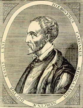 Girolamo Cardano (n. 24 septembrie 1501, Pavia - d. 21 septembrie 1576, Roma) a fost un matematician, filozof și medic italian din perioada Renașterii - foto: en.wikipedia.org