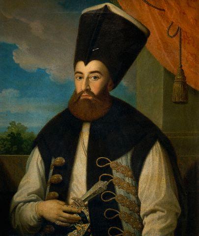 Grigore al IV-lea Ghica sau Grigore Dimitrie Ghica (n. 30 iunie 1755 - 29 aprilie 1834) a fost domnitor al Țării Românești (30 iunie 1822 - 29 aprilie 1828) - foto: ro.wikipedia.org