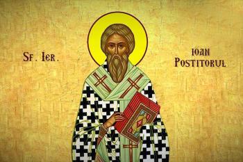 Sfântul Ierarh Ioan Postitorul, patriarhul Constantinopolului - foto preluat de pe doxologia.ro