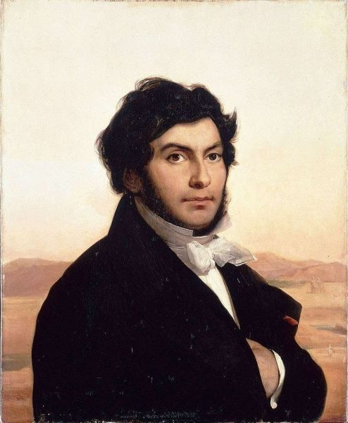 Jean-François Champollion (n. 23 decembrie 1790, Figeac, Franța - d. 4 martie 1832, Paris) a fost un orientalist francez - foto: ro.wikipedia.org