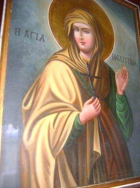 Sfânta Muceniță Meletina. Prăznuirea lor de către Biserica Ortodoxă se face la data de 16 septembrie - foto: doxologia.ro